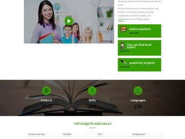 ONLINE TEACHERS AND HOME TUTORS PORTAL