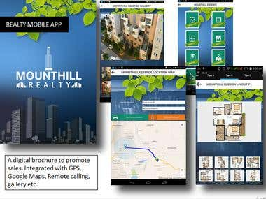 Realty Mobile app