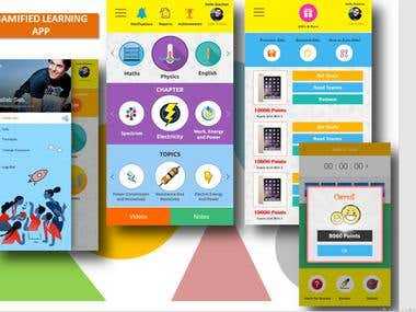 Gamified Learning App