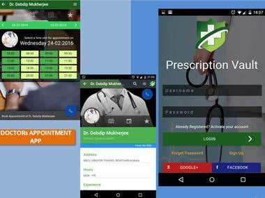 Doctors Appointment app