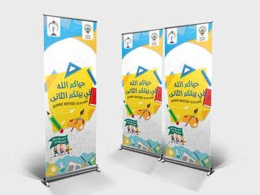 Roll Up Banner deigns