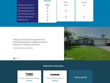 Real estate website - For Buy/Rent Home