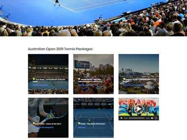 Sports far crossings:For Australian client