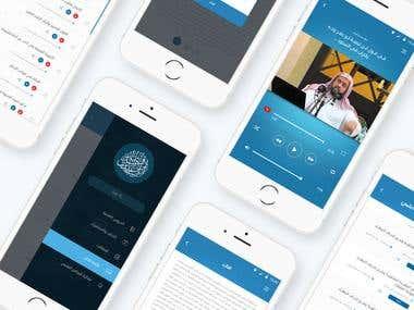 Waleed Ben Rashed App UI/X Design