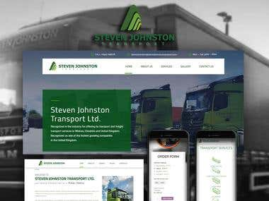 YourWebsiteHQ Project - Steven Johnston Transport