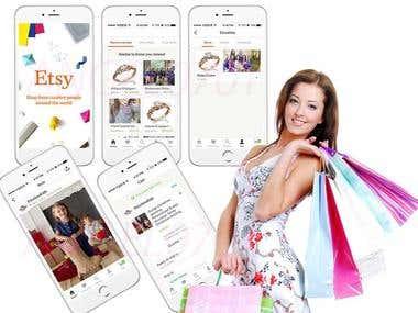 Etsy(Shopping App)