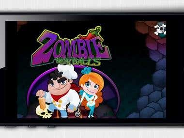 Zombie Meatballs Saga iPad Video review by Stelapps