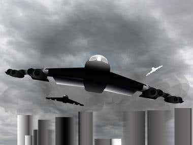 B- 52 Illustration