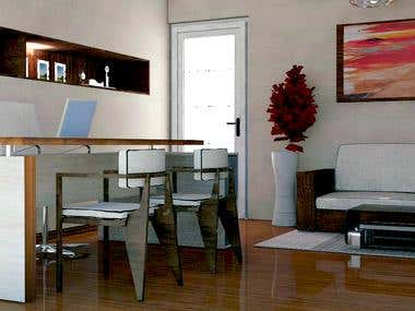Diseño de muebles.