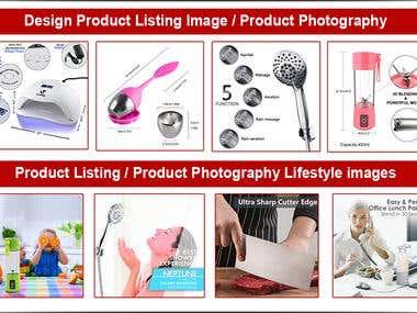 Product Listing Images Photoshop Design