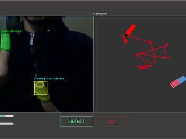 Colored object detection OpenCV