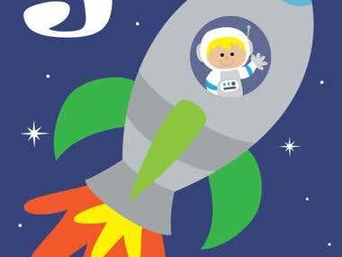 Children's Card illustration