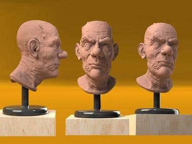 3D FACE MODEL