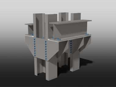 Abutment For Water Irrigation and Bridge