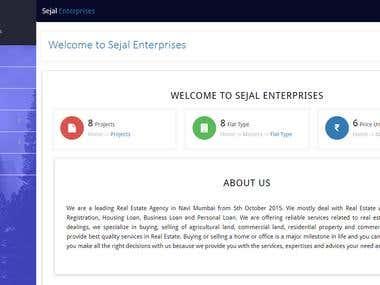 Sejal Enterprises Admin Panel