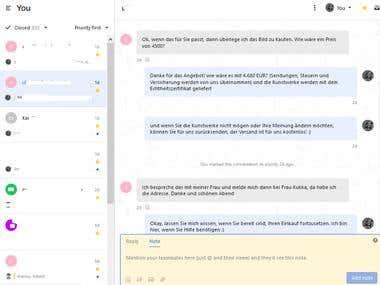 Live Chat Customer Service Representative & Sales