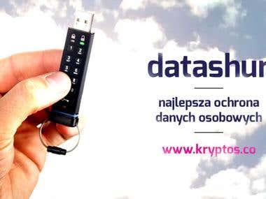 Datashur banner for social