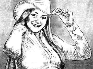 Illustrator Vector Art!; Pencil art work; Various shirt