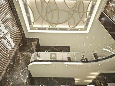 new classic reception of hotel