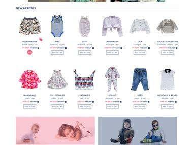 E-Commerce Market Place for Kids (Customer Loc : Hong Kong)