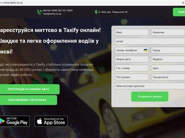Taxify Franchise Ukraine