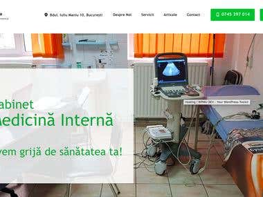 Doctor Presentation Website