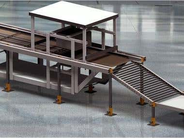 Sea Food Packaging machine (Design & Manufacturing)