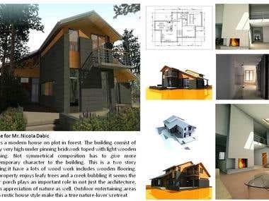 Civil Architecture and Interior Designing