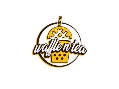 Waffle n Tea logo