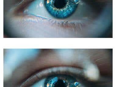 Eyes enhancement