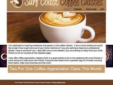 Surf Coast Coffee Classes