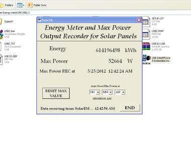 Solar Panel Energy Meter