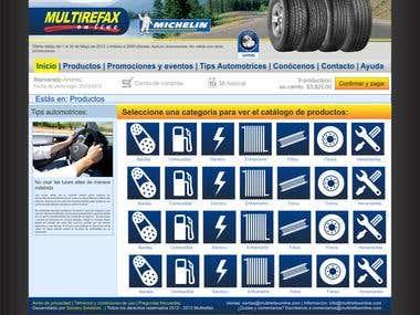 Autopart web store