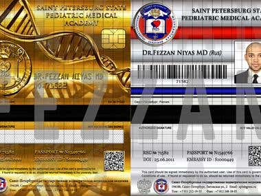 Credit Card/Business Card/Identity Card Design