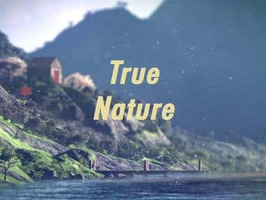 True nature (bumper animation)
