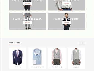 Bespoke Webiste design