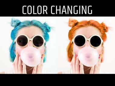 COLOR CHANGING