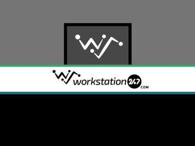 WorkStation247 Logo Design
