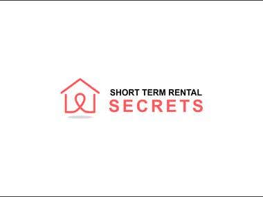 Logo Designed for SHORT TERM RENTAL SECRETS.