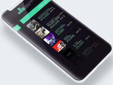 Purchasebeats App Design
