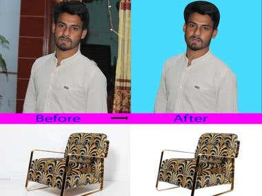 Photo edit background remove