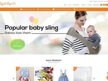 Shopify baby Niche PREMIUM Store Creation