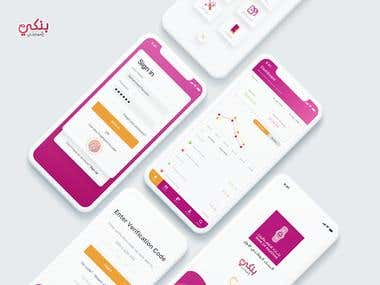 UI/Ux for Bank of Palestine