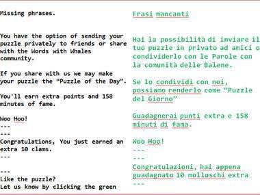 English>>Italian