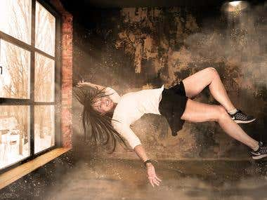 Levitation Fantasy Photo Editing