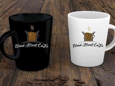 wood street cafe logo
