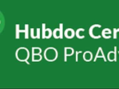 Hubdoc-Certified QuickBooks ProAdvisor