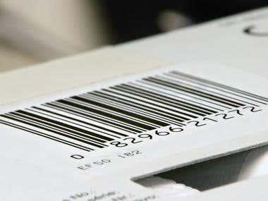 Windows Barcode Reader