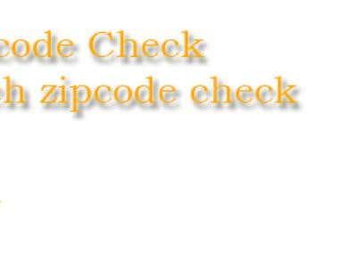 Postcode Check