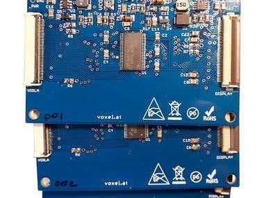 TTL/RGB to LVDS converter board